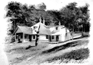 A vadászkastély 1910 táján